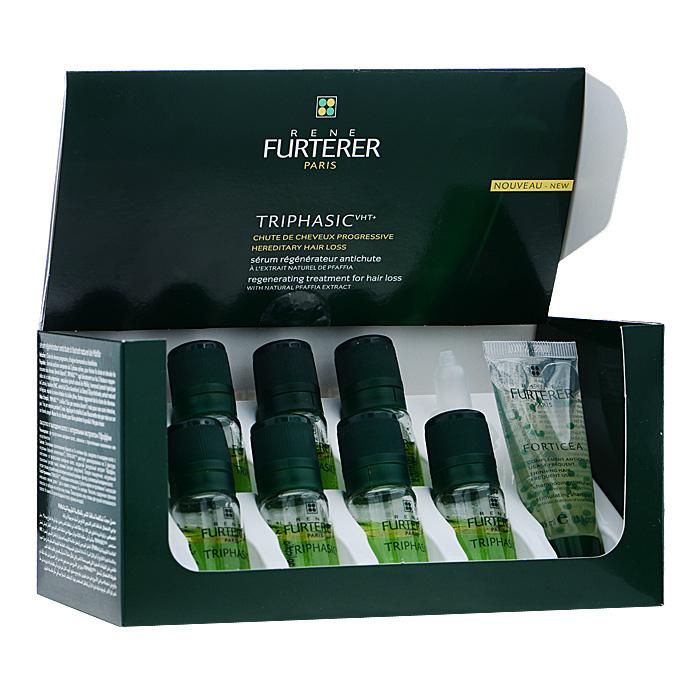 Rene Furterer Набор от выпадения волос: сыворотка Triphasic, шампунь Forticia