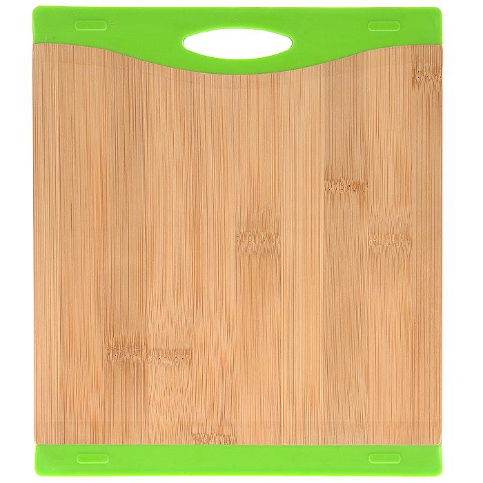 """Доска разделочная """"Bohmann"""", бамбуковая, 23 см х 20,5 см. 02502BH"""
