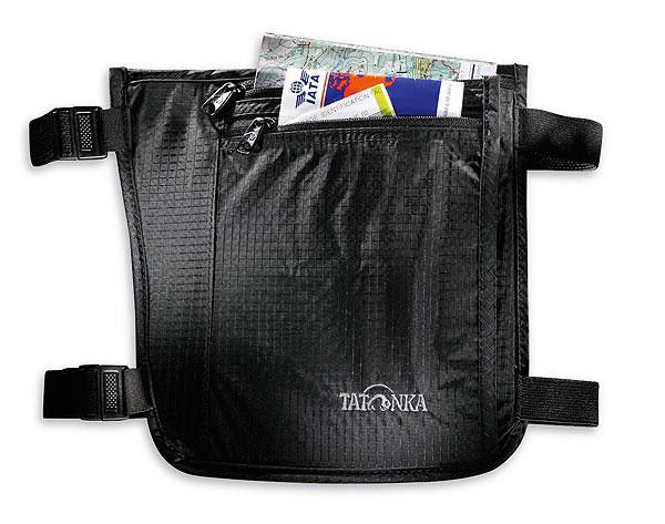"""Кошелек на голень Tatonka """"Skin Secret Pocket"""", потайной, цвет: черный"""