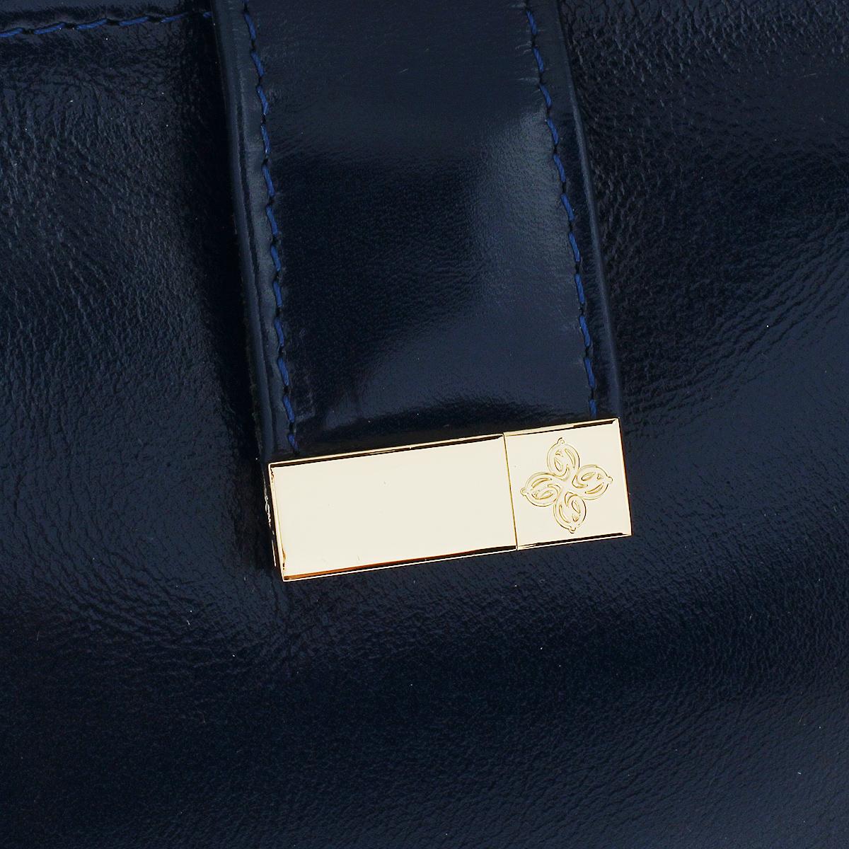 """Сумка-клатч женская Dimanche """"Bowling Bag"""", цвет: синий. 435/3/R ( 435/3/R )"""
