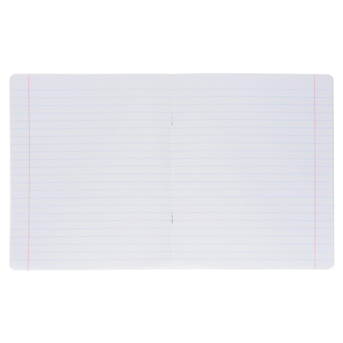 Набор тетрадей Полиграфика Классика в линейку 18 л. розовый, 10 шт.