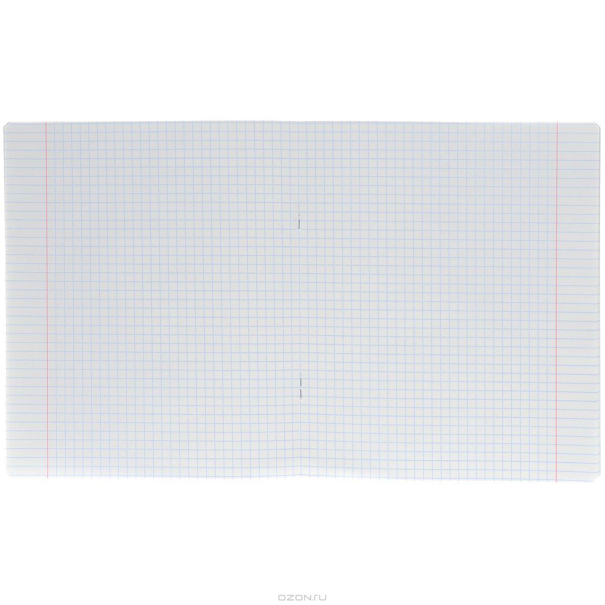 Набор тетрадей Полиграфика Классика в клетку 24 л. розовый