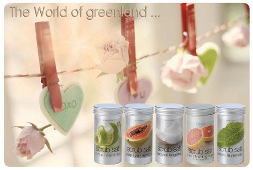 Greenland Скраб-соль Fruit Emotions для ванны, с кокосом и мандарином, 400 г