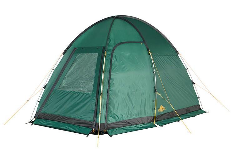 "Палатка Alexika ""Minnesota Alu 3 Luxe"" 9153.3101, цвет: зеленый"