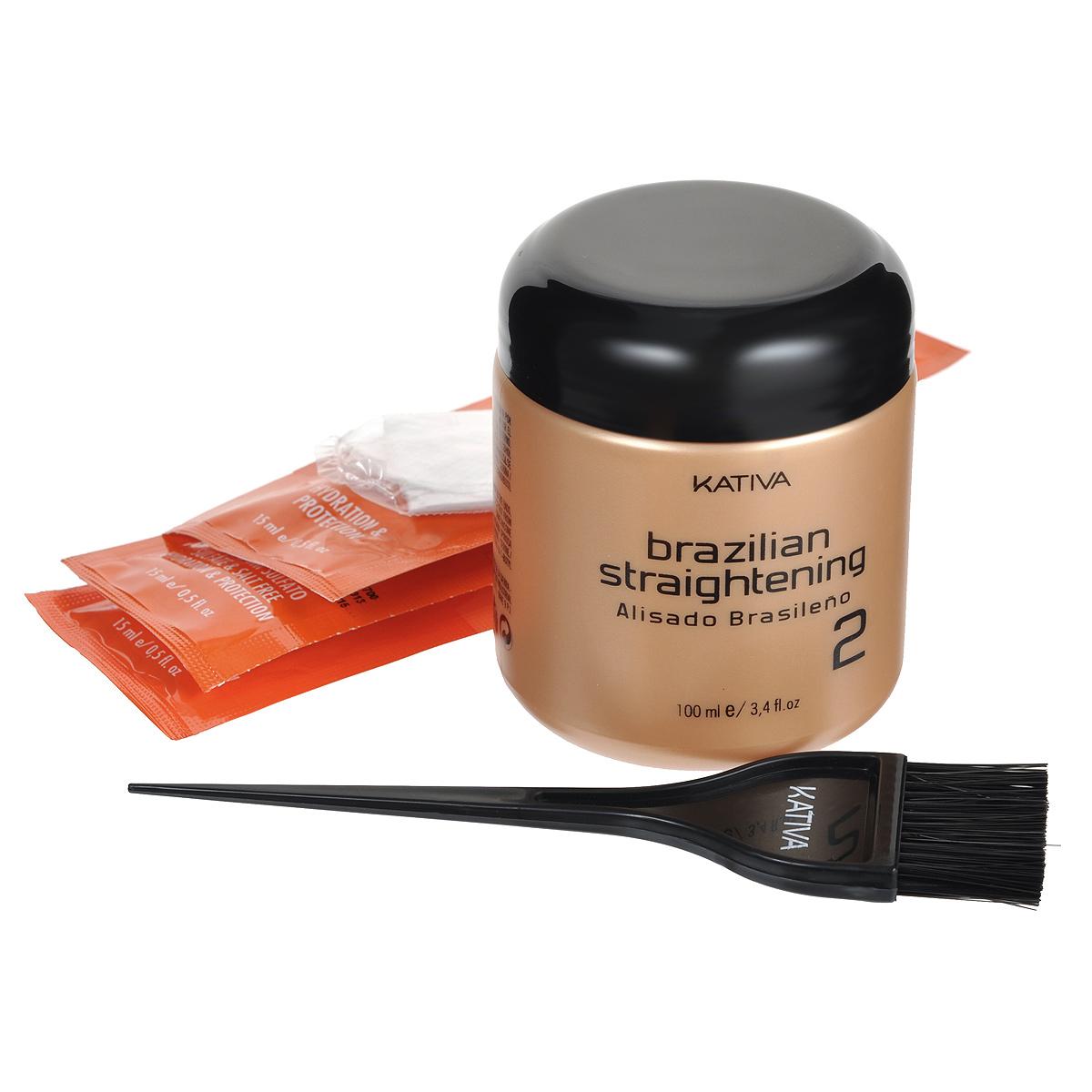 Набор для выпрямления волос кератиновый