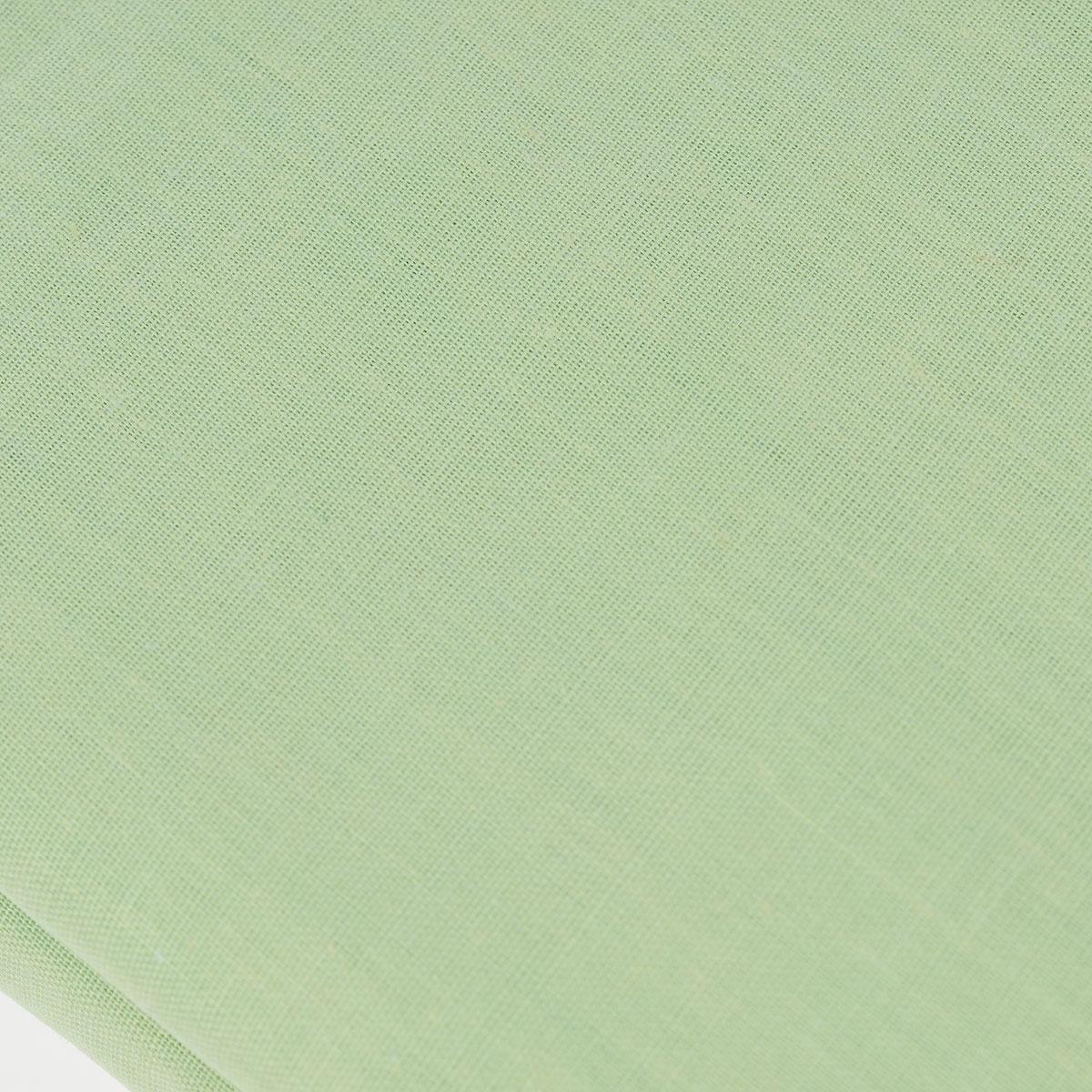 """Простыня на резинке """"Style"""", цвет: зеленый, 180 см х 200 см. 114911407"""