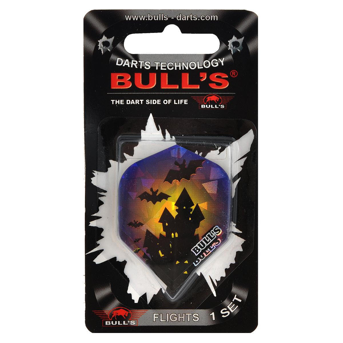"""Набор оперений для дротиков Bull's """"Diamond-Flights Std"""", 3,5 см х 4,5 см. 52587"""