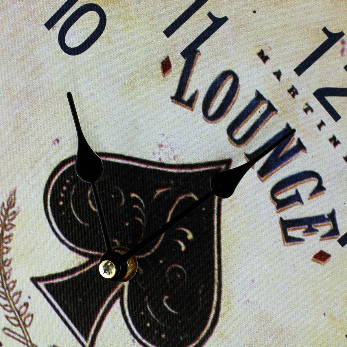 """Часы настенные """"Black Jack"""", кварцевые, с маятником. 30378"""