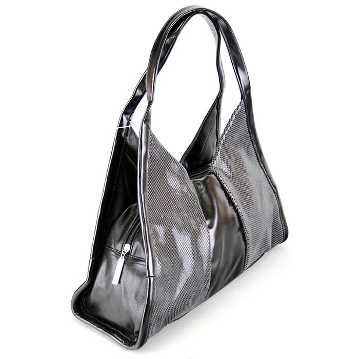 "Сумка женская ""Leighton"", цвет: черный, серый. 550222-12/29A/5760/5320 ( 550222-12/29A/5760/5320 )"