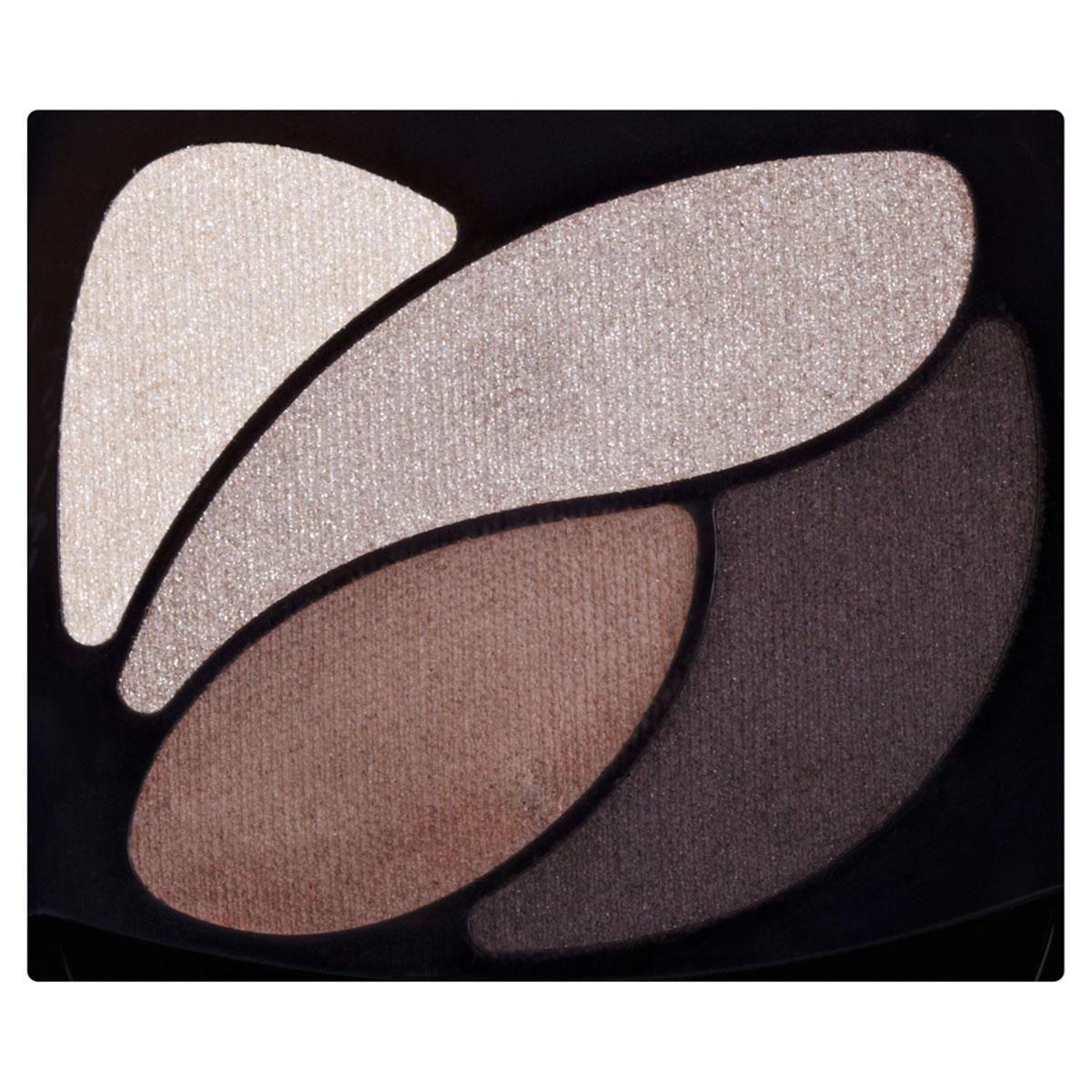 LOreal Paris Тени для век Color Riche, Квадро, оттенок E4, Кожаный клатч, стойкие, 4,5 г