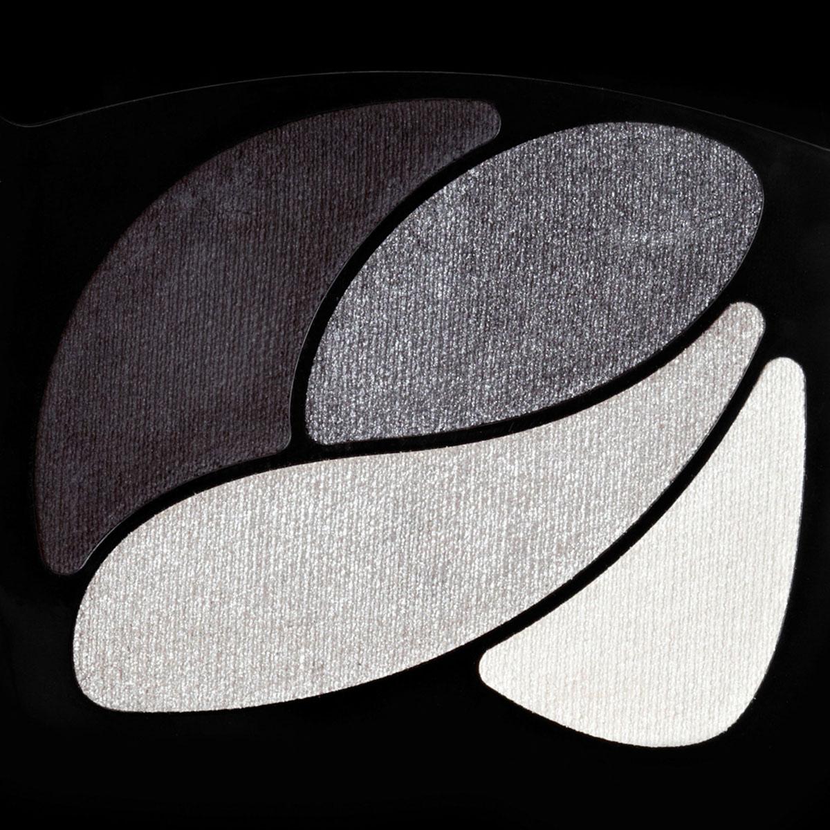 LOreal Paris Тени для век Color Riche, Квадро, оттенок E5, Маленькое черное платье, стойкие, 4,5 г