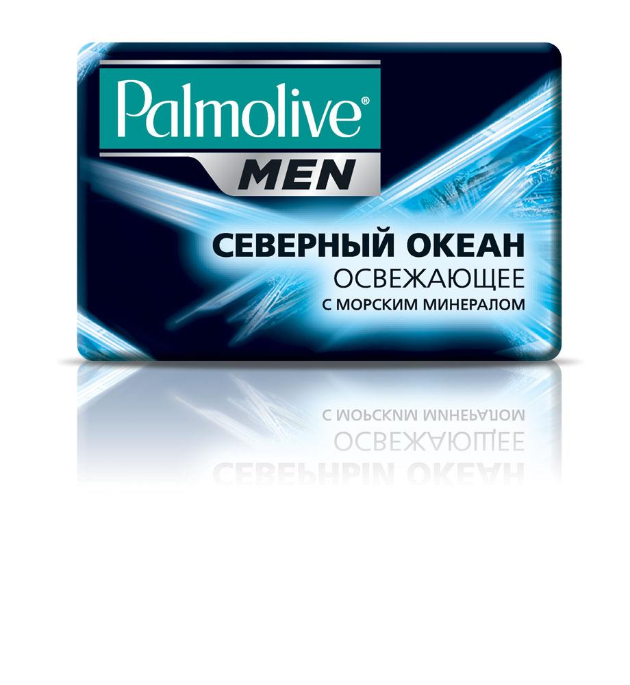Palmolive Мыло туалетное Palmolive Men Северный Океан, для лица и тела, освежающее, с морскими минералами, 90 г