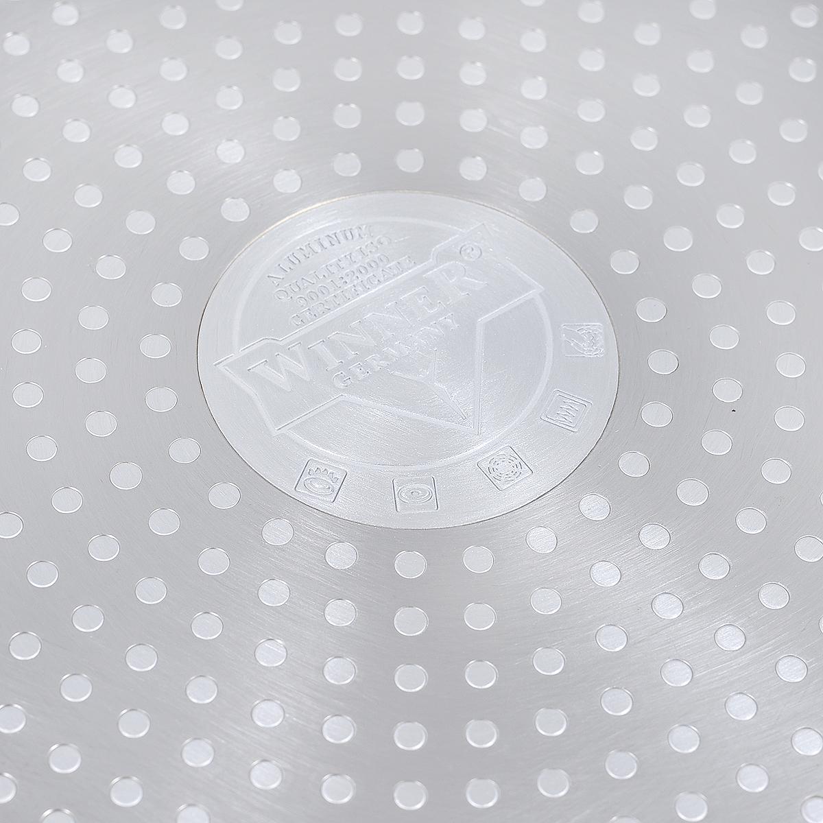 """Сковорода """"Winner"""", с керамическим покрытием, цвет: мокко, сливочный. Диаметр 28 см. WR-6151"""