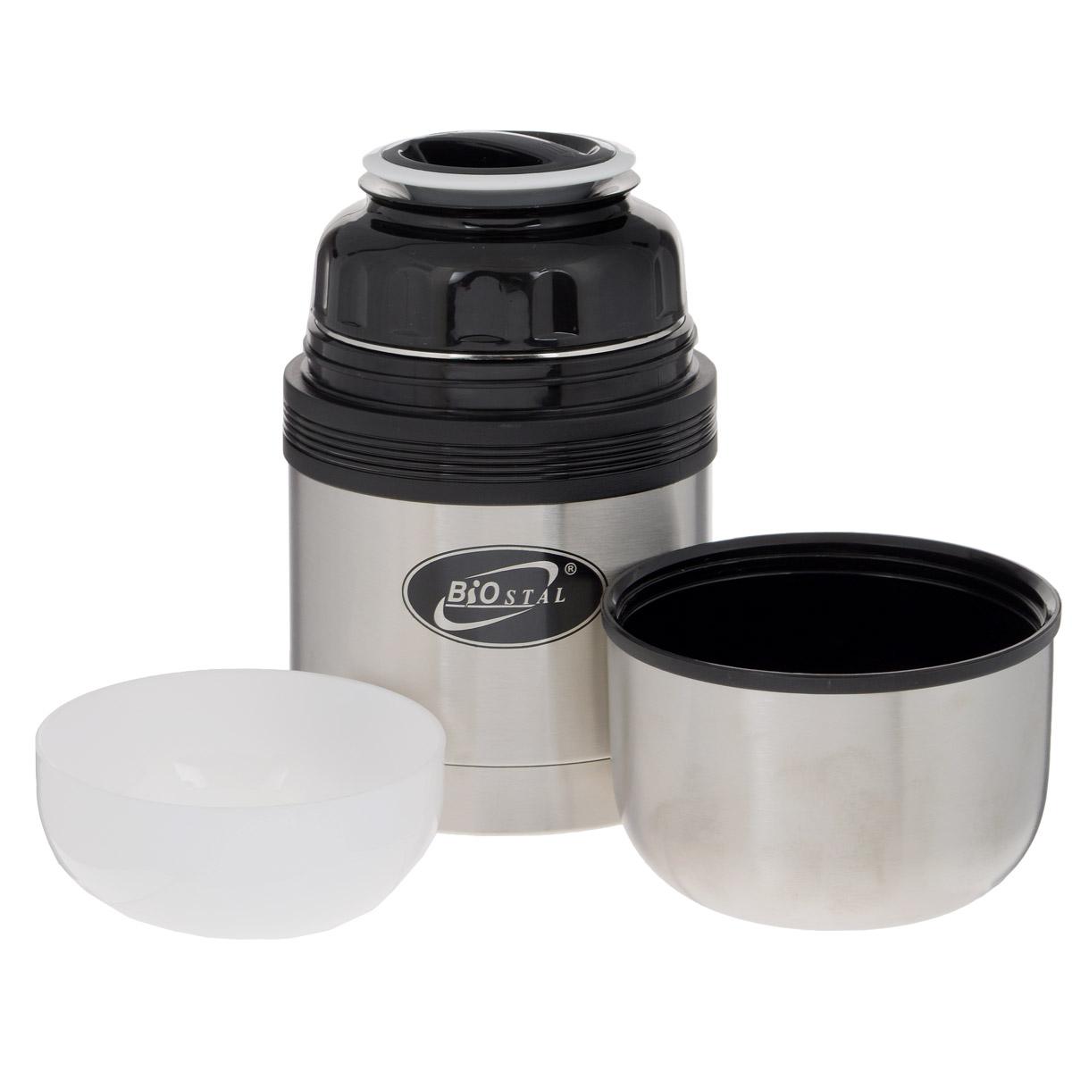 Термос универсальный Tiger MHK-A200 XC 2 л (нержавеющая сталь цвет серебристый горловина 7см крышка-кружка + пиала складные пластиковые ручки р