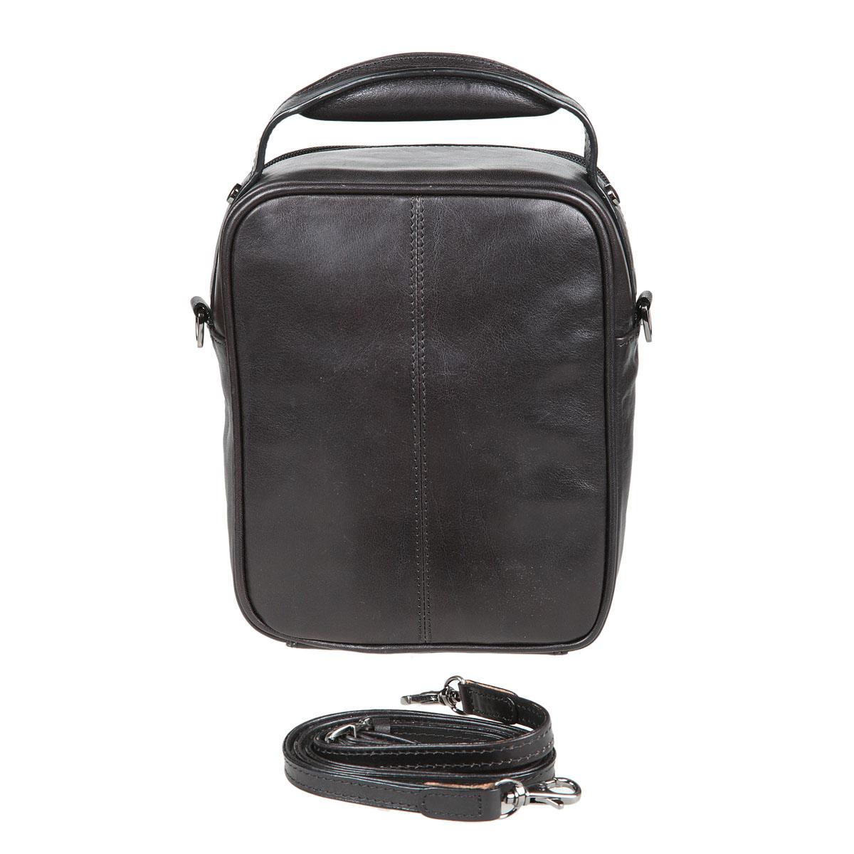 Сумка-планшет мужская Sergio Belotti, цвет: черный. 8381 ( 8381 milano black )
