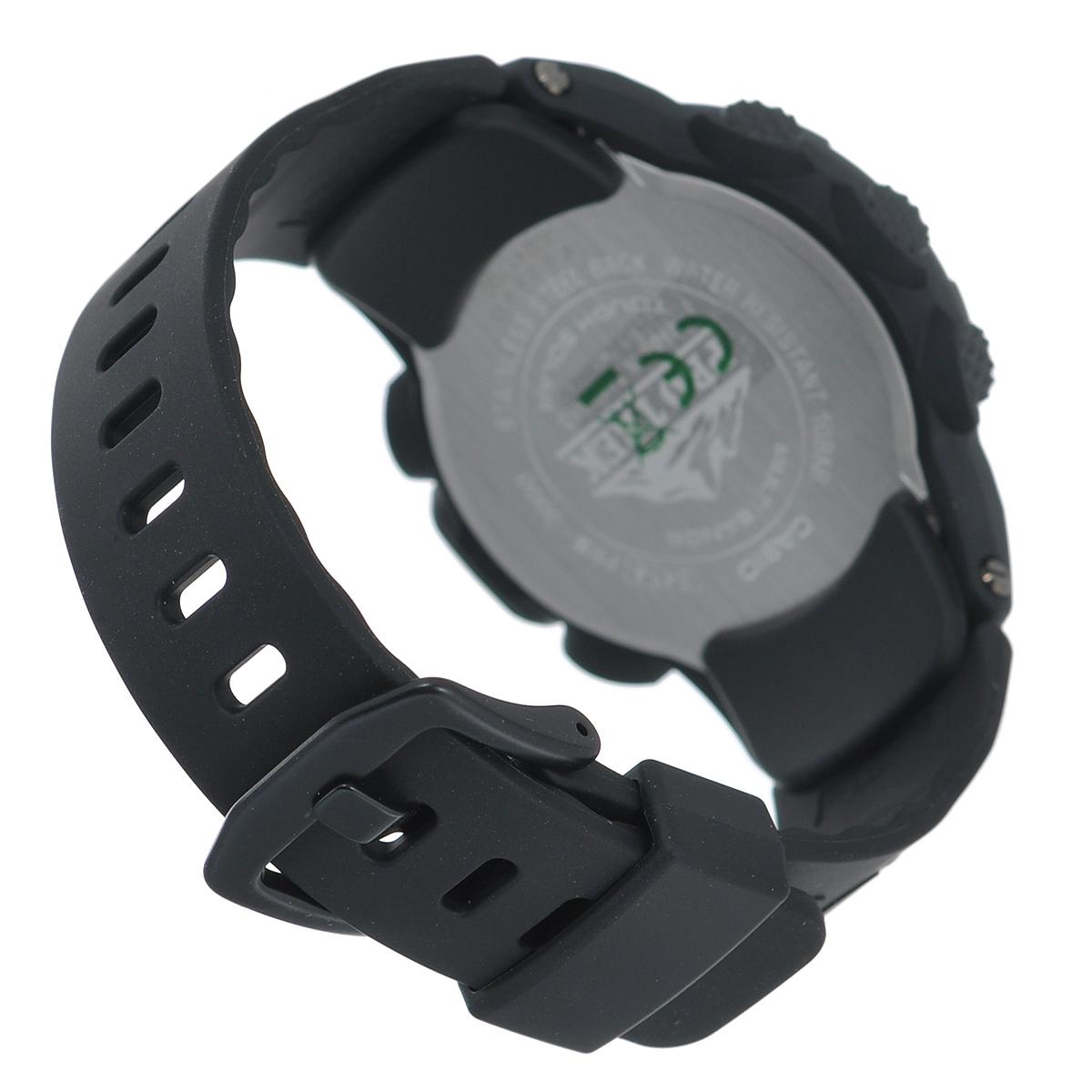 """Часы мужские наручные Casio """"Protrek"""", цвет: черный. PRW-3000-1A ( PRW-3000-1A )"""