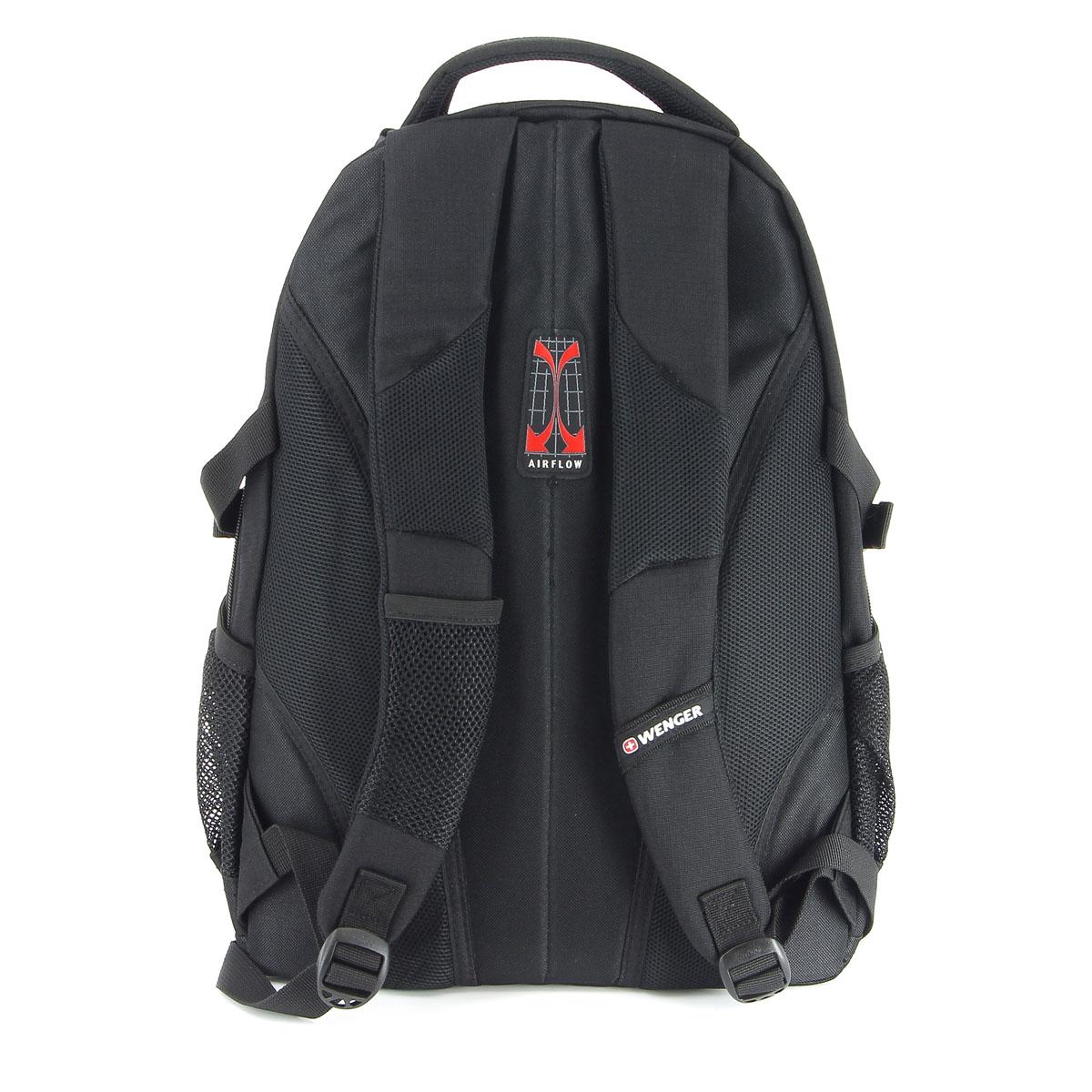 Рюкзак Wenger, цвет: черный, 33 см х 15 см х 45 см, 22 л ( 3001202408 )
