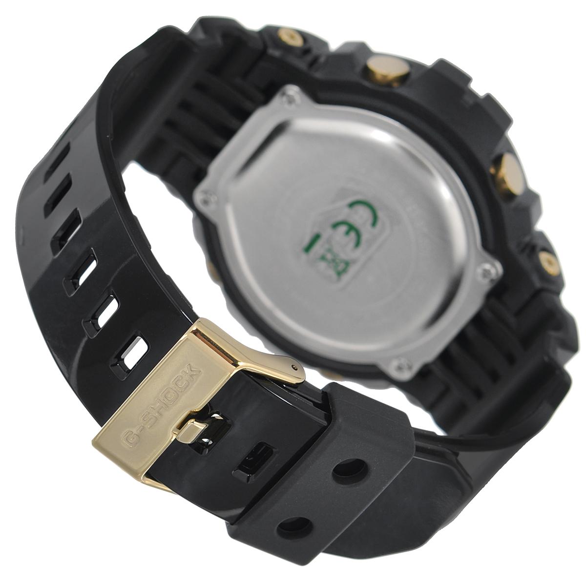 """Часы мужские наручные Casio """"G-Shock"""", цвет: черный, золотой. GD-X6900FB-1E ( GD-X6900FB-1E )"""
