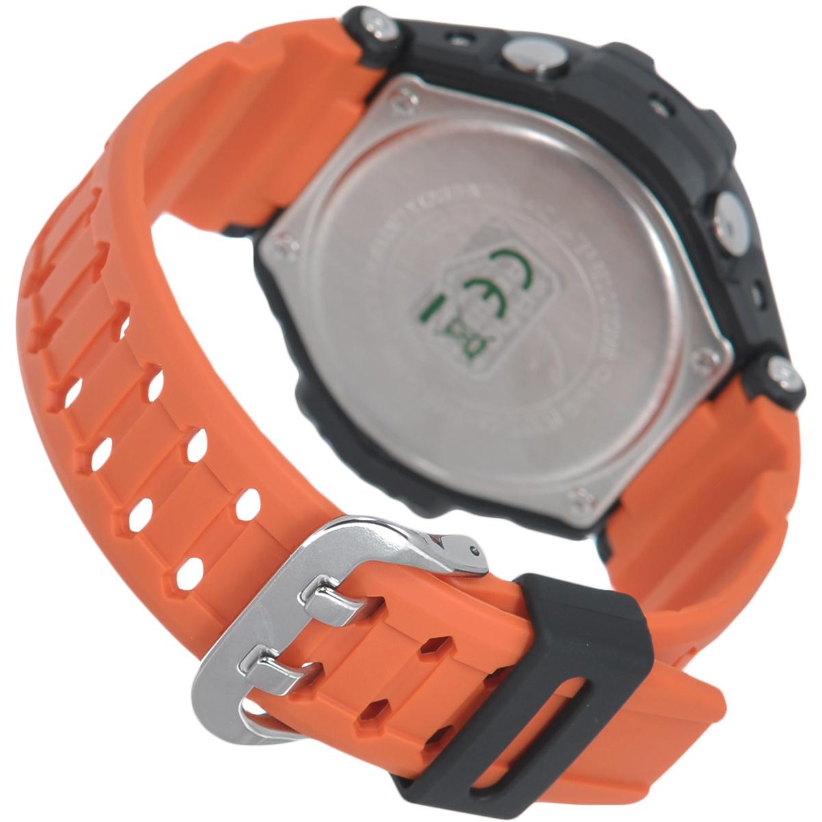 """Часы мужские наручные Casio """"G-Shock"""", цвет: черный, оранжевый. GA-1000-4A ( GA-1000-4A )"""