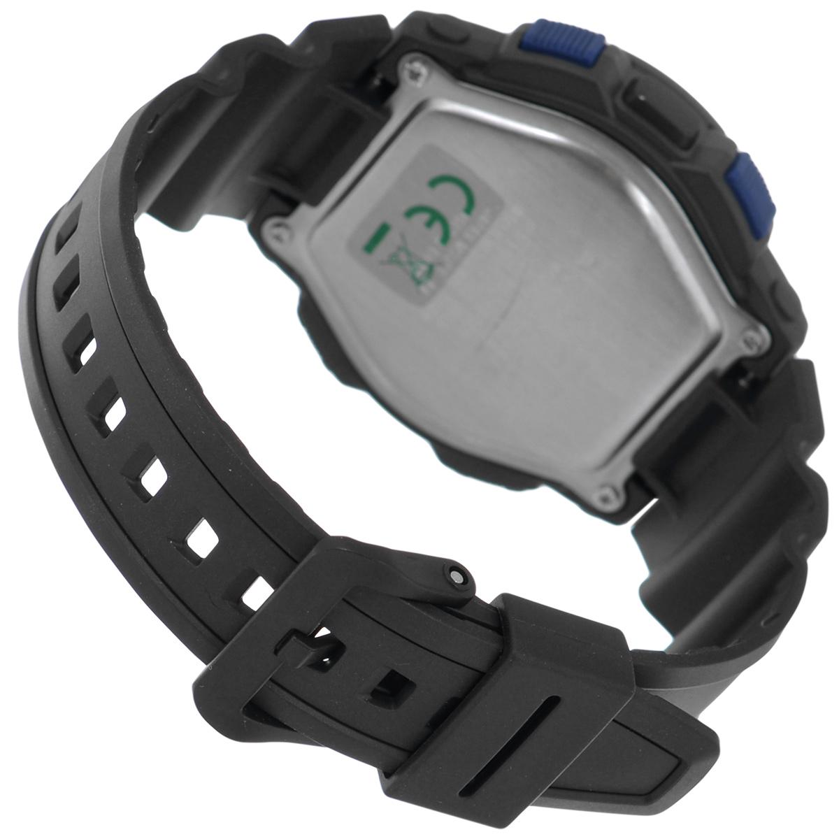 "Часы мужские наручные ""Casio"", цвет: черный, синий. SGW-500H-2B ( SGW-500H-2B )"