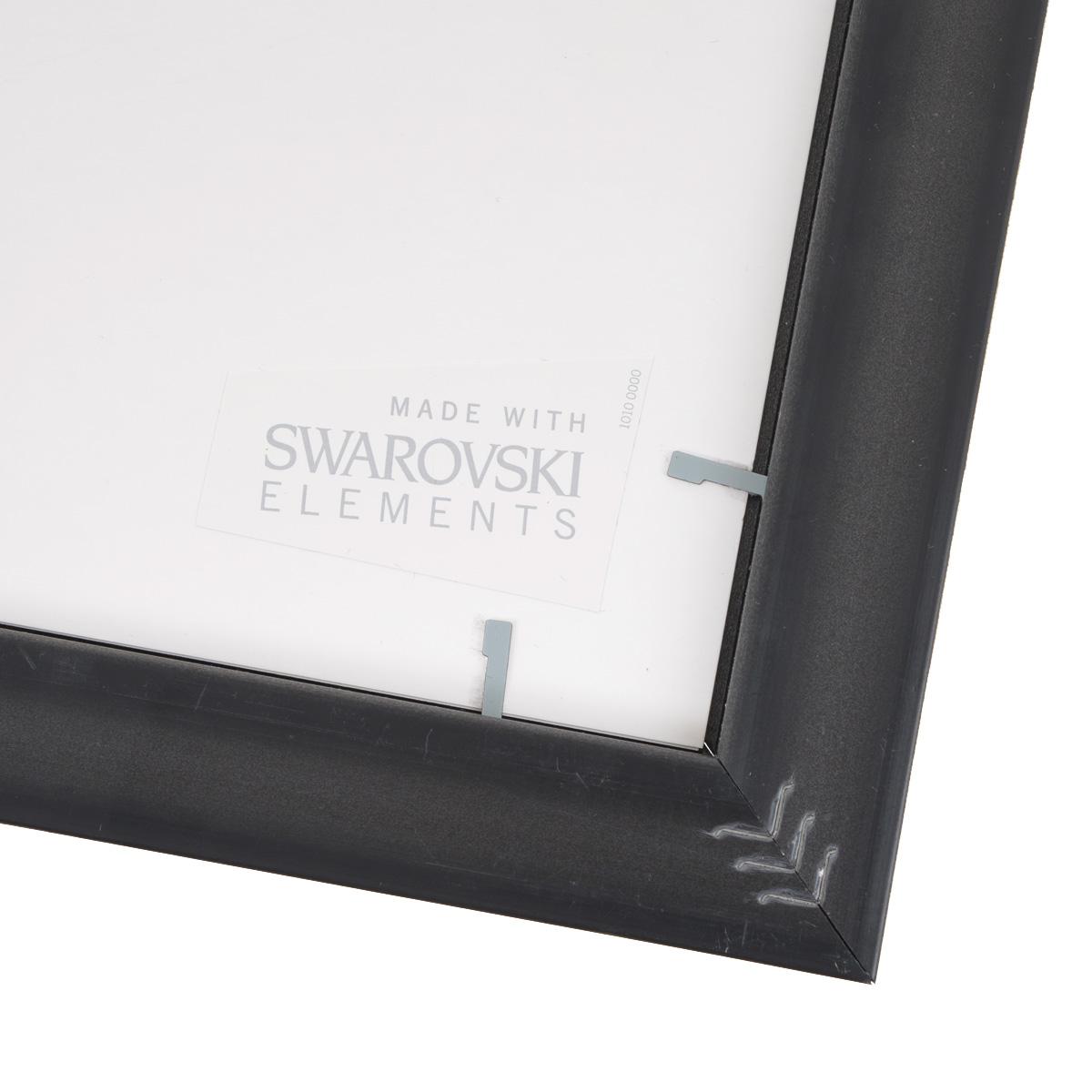 """Картина с кристаллами Swarovski """"Летний аромат"""", 35 х 35 см"""