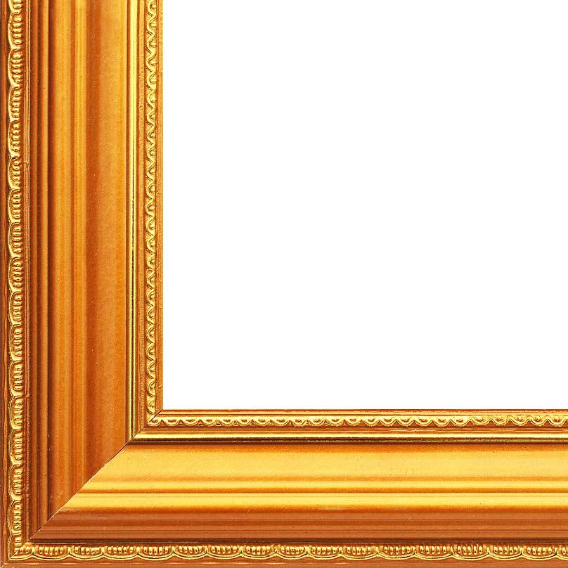 """Рама багетная """"Nicole"""", цвет: золотой, 30 см х 40 см"""