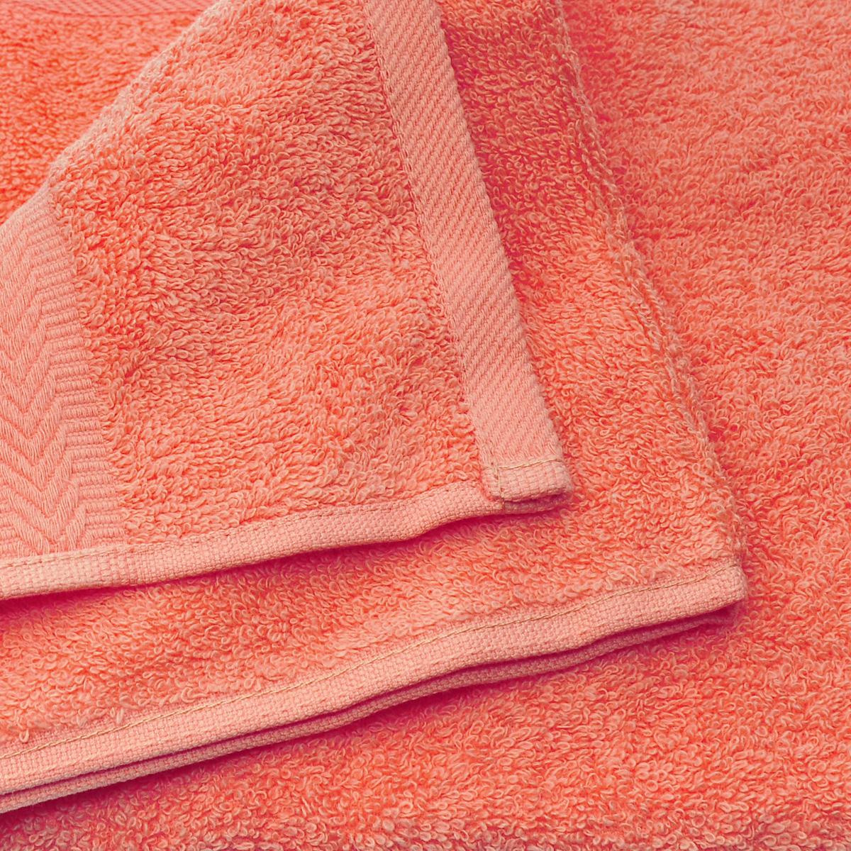 """Полотенце махровое Coronet """"Классик"""", цвет: оранжевый, 30 х 50 см"""