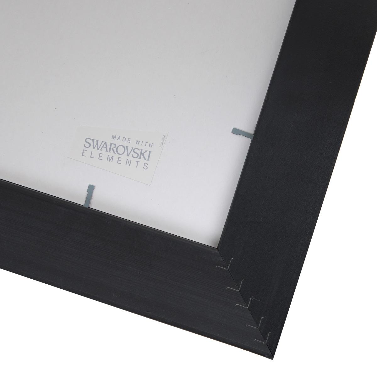 """Картина с кристаллами Swarovski """"Икона. Святая Троица"""", 22,5 см х 27,5 см"""