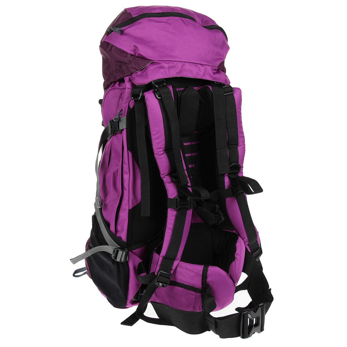 "Рюкзак WoodLand ""Mountana 60"", цвет: пурпурный, бордо"