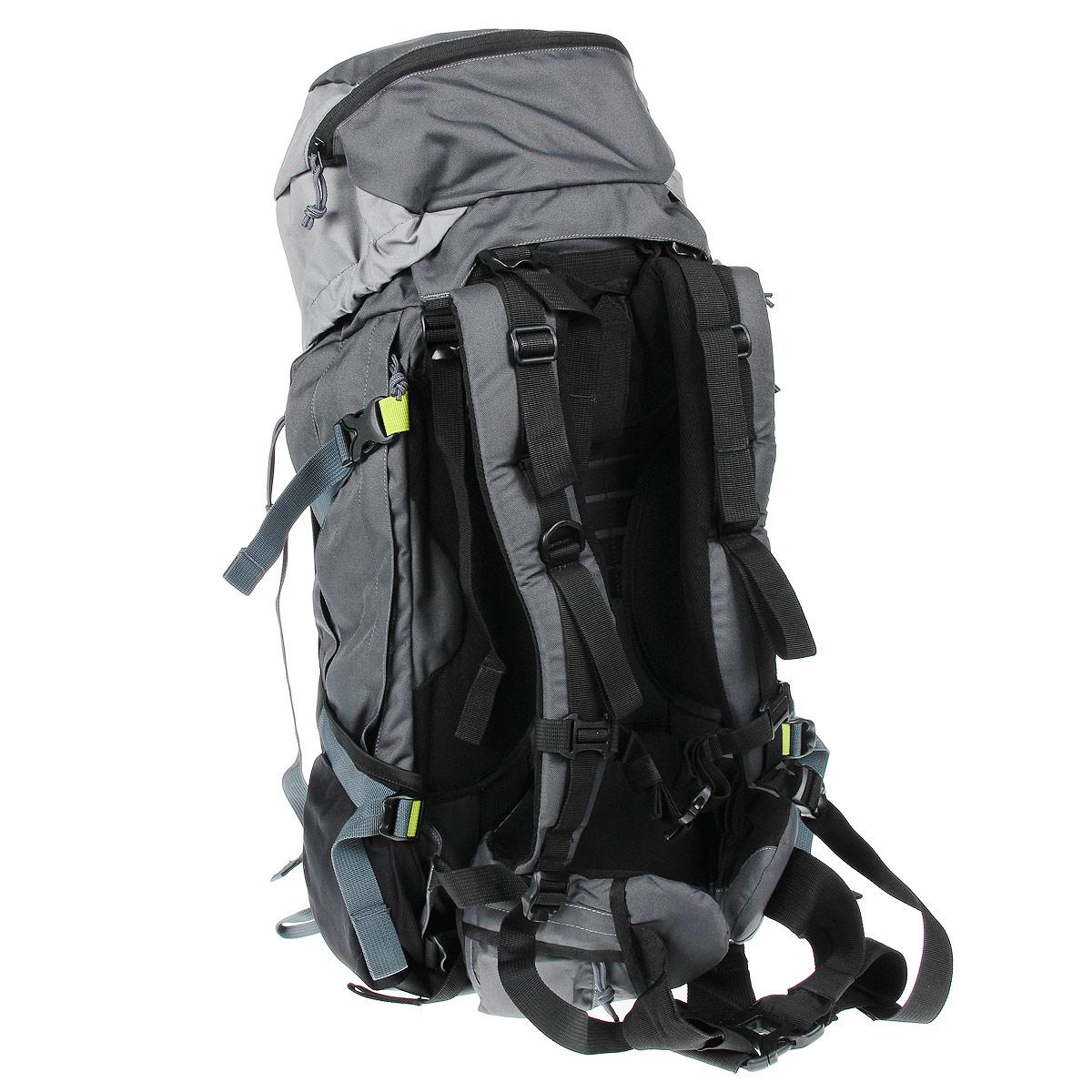 """Рюкзак WoodLand """"Mountana 60"""", цвет: черный, серый"""
