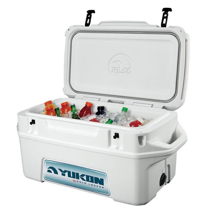 """Изотермический контейнер Igloo """"Yukon"""", с подушкой, цвет: белый, 47 л ( 44666 )"""