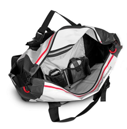 """Сумка водонепроницаемая LaPlaya """"Square Bag"""", герметичная, цвет: белый, черный, 40 л"""