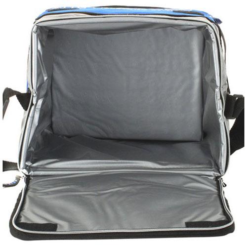 Сумка-холодильник Ezetil KC Extreme, цвет: голубой, серый, 16 л726481Изотермическая сумка-термос Ezetil KC Extreme идеально подходит для работы и путешествий. Сумка предназначена для транспортировки и сохранения охлажденных продуктов питания. Имеет 14 часовой период охлаждения. Для поддержания температуры обязательно использовать с аккумуляторами холода (докупается отдельно). Такая компактная и вместительный сумка послужит отличным аксессуаром во время походов на пикник или путешествий! Объем: 16 л.