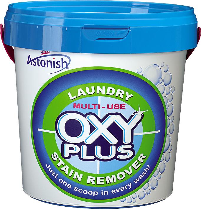 """Кислородный пятновыводитель Astonish """"Oxy-Plus"""", сильнодействующий, 1 кг ( 21475 )"""