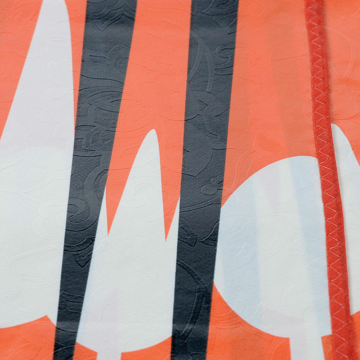 """Скатерть White Fox """"Осень"""", прямоугольная, цвет: красный, оранжевый, 120 x 152 см"""