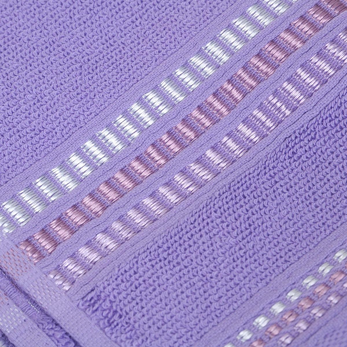 """Полотенце махровое Coronet """"Пиано"""", цвет: светло-лиловый, 30 см х 50 см"""
