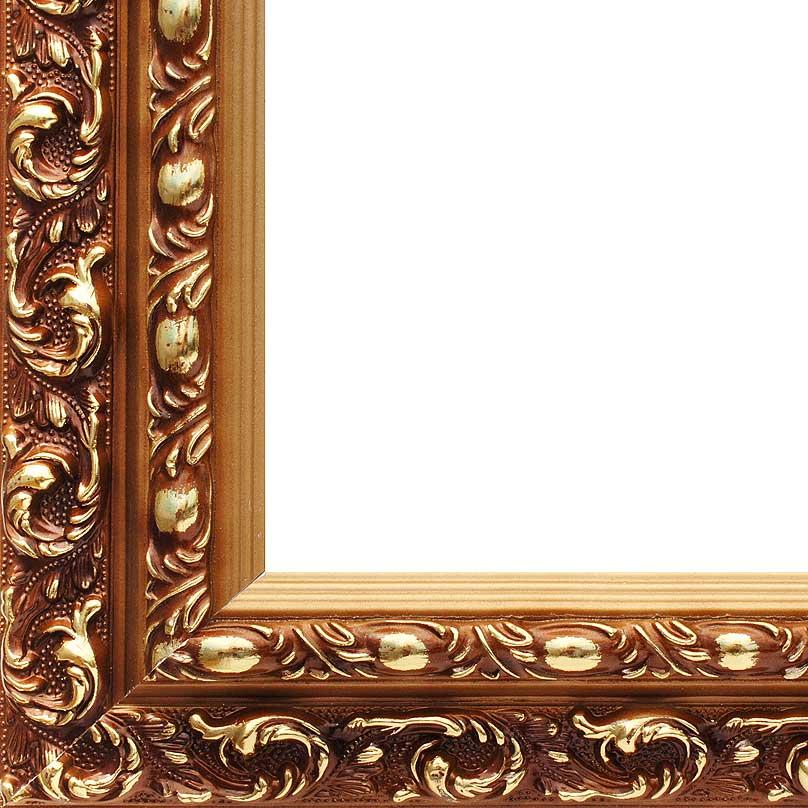 """Рама багетная """"Violetta"""", цвет: золотой, 40 см х 50 см"""