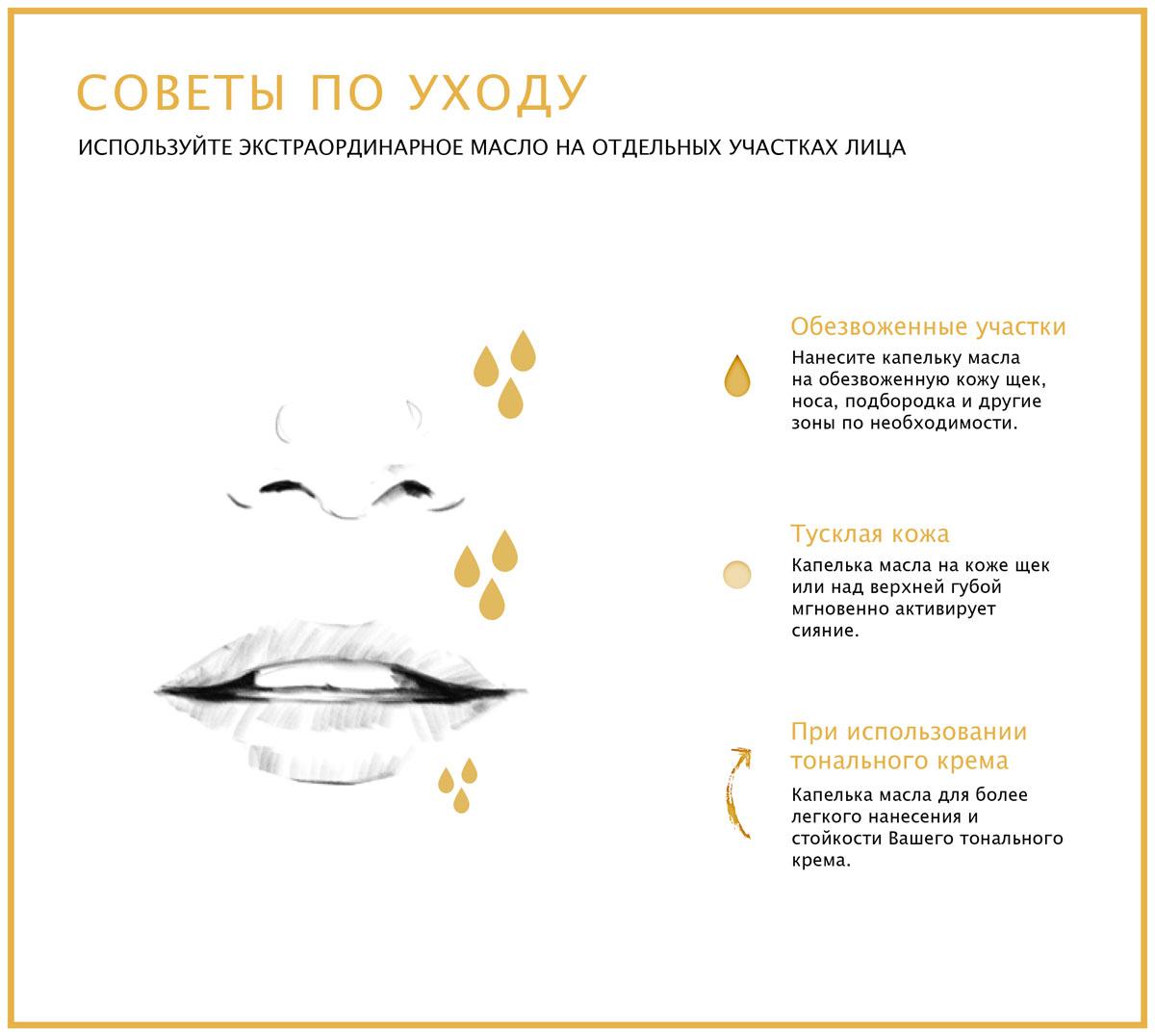 LOreal Paris Роскошь Питания. Экстраординарное Масло Преображающее масло для лица для всех типов кожи, восстанавливающее, 30 мл