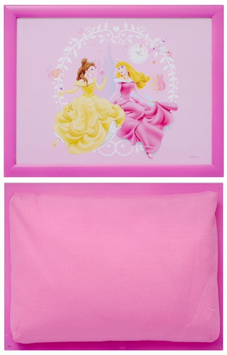 "Столик-поднос Disney ""Принцесса"", с подушкой, 44 см х 34 см х 8 см ( 61242 )"