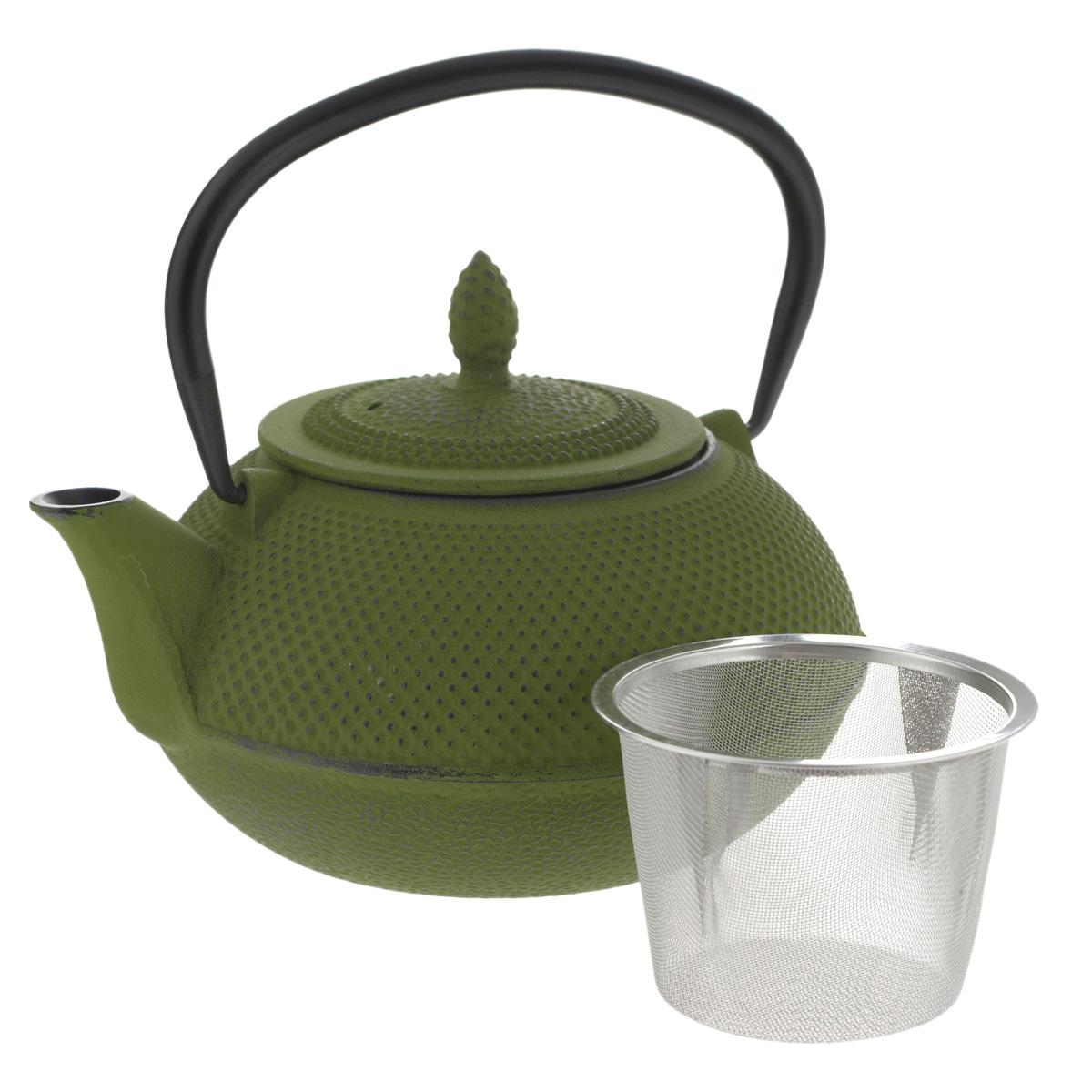 """Чайник заварочный """"Mayer & Boch"""" с ситечком, цвет: зеленый, 1 л"""