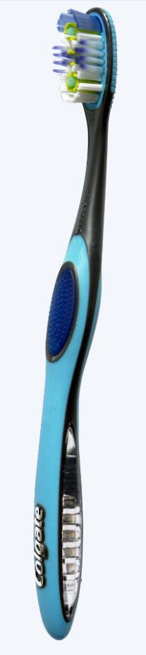 Colgate Зубная щетка 360. Межзубная чистка, средней жесткости