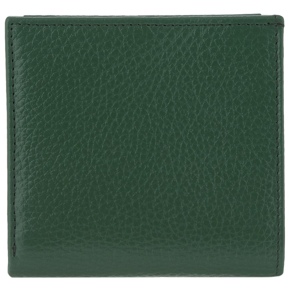 Портмоне женское Butun, цвет: зеленый. 590-004 075590-004 075Женское портмоне Butun выполнено из натуральной высококачественной кожи с натуральным тиснением. Портмоне состоит из двух отделений для купюр, разделенных средником. На створках портмоне расположены три прорезных вертикальных и два горизонтальных кармашка для карт, и горизонтальный кармашек для карточек и визиток с полупрозрачным окошком-сеткой. Также портмоне дополнено отделением для монет на клапане с кнопкой, с дополнительным открытым кармашком. Портмоне закрывается на кнопку, фронтальная сторона оснащена металлическими уголками. Фурнитура оформлена под серебро. Портмоне - это удобный и стильный аксессуар, необходимый каждому активному человеку для хранения денежных купюр, монет, визитных и пластиковых карт, а также небольших документов. Надежное портмоне Butun сочетает в себе классический дизайн и функциональность, и не только практично в использовании, но и станет отличным дополнением к любому стилю, и позволит вам подчеркнуть свою индивидуальность. Портмоне...