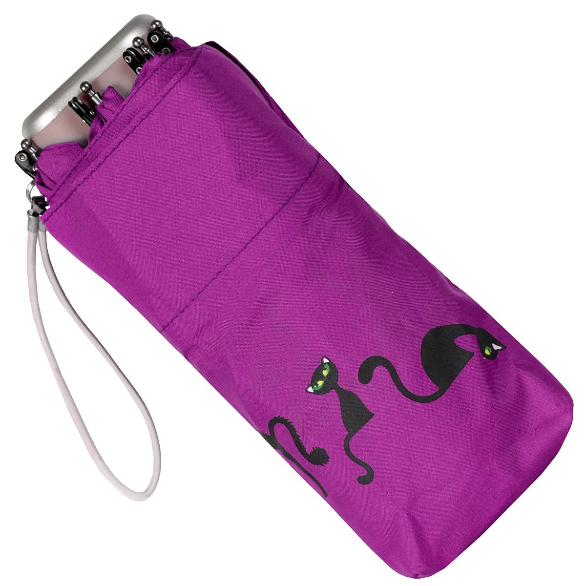 """Зонт женский """"Zest"""", механический, 5 сложений, цвет: фиолетовый. 25569-1023 ( 25569-1023 )"""