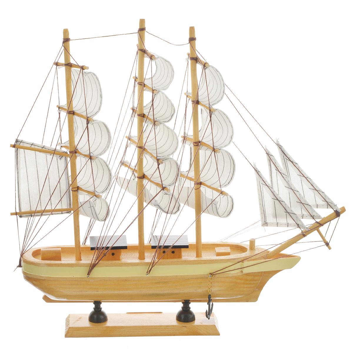 """Корабль сувенирный """"Zew Morza"""", длина 32 см"""