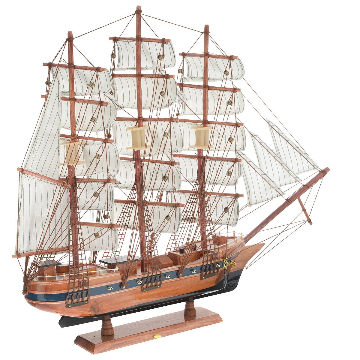 """Корабль сувенирный """"Паруса"""", длина 60 см"""