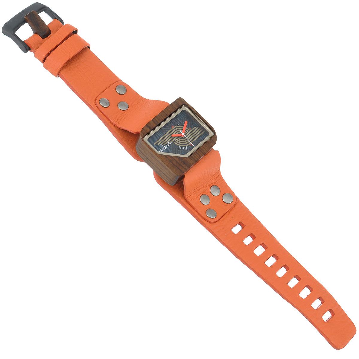 "Часы наручные женские Mistura ""Pellicano: Orange/Nazca Dark"". TP09004ORPUNDWD ( TP09004ORPUNDWD )"