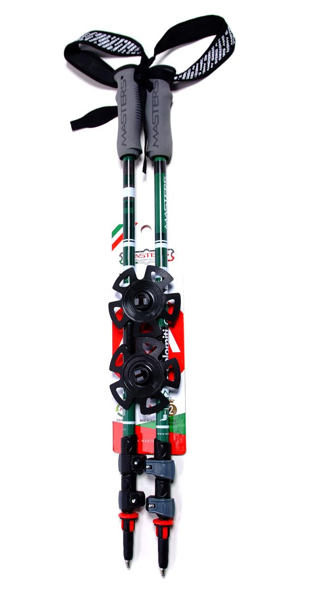 """Палки для трекинга Masters """"Dolomiti GT"""", телескопические, 65-135 см"""
