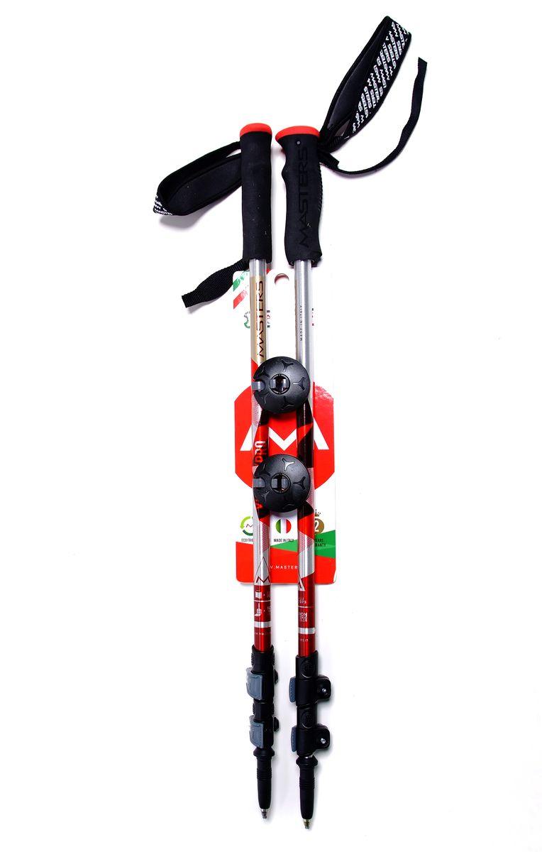 """Палки для трекинга Masters """"Dolomiti SL"""", телескопические, 65-135 см"""