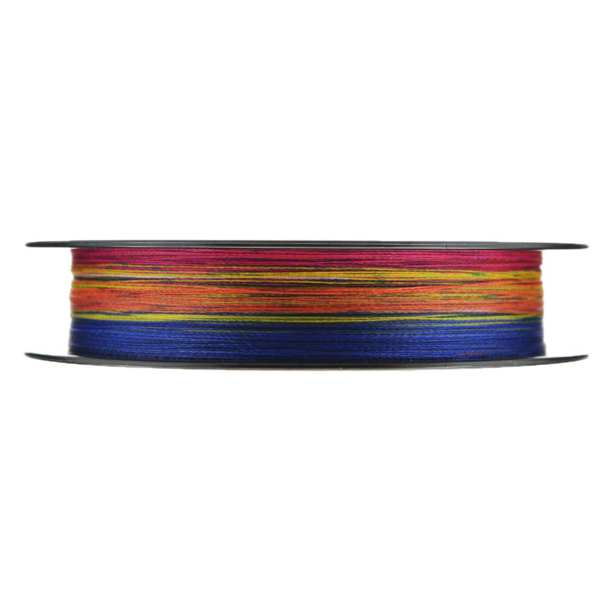 "Леска плетеная Allvega ""Bullit Braid"", цвет: мульти, 150 м, 0,14 мм, 8,4 кг"
