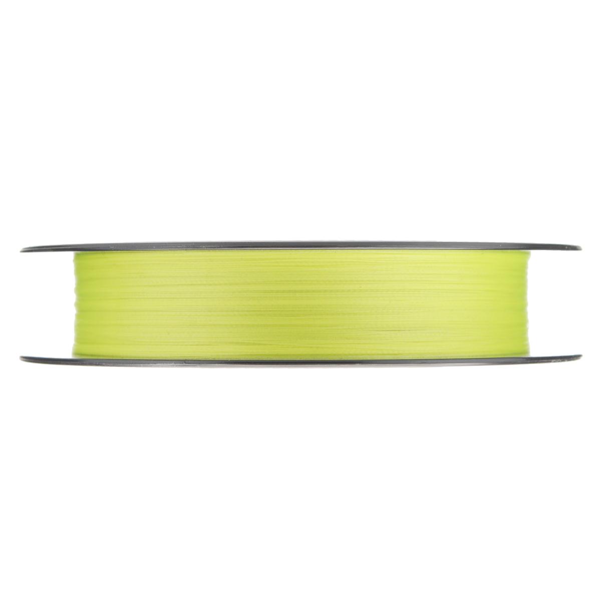 "Леска плетеная Allvega ""Bullit Braid"", цвет: ярко-желтая, 92 м, 0,08 мм, 4,5 кг"